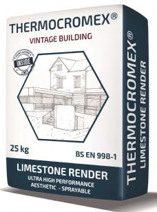 St Astier Thermocromex Lime based render (25kg)